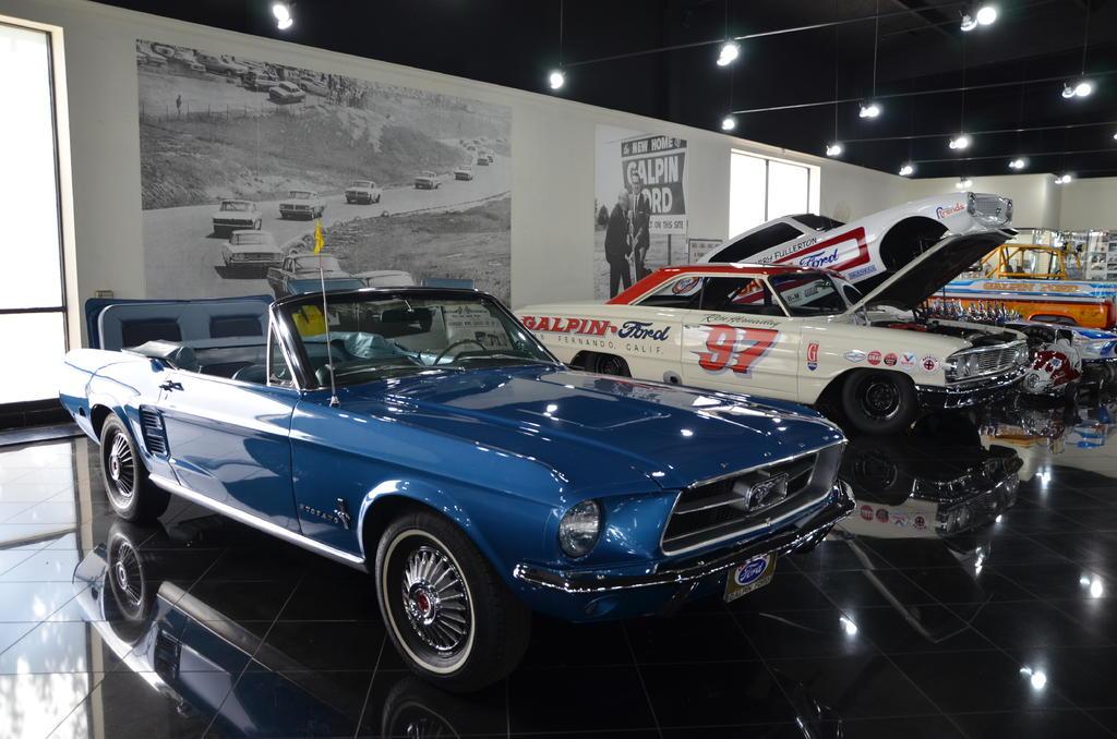 Mustang som paradbil...